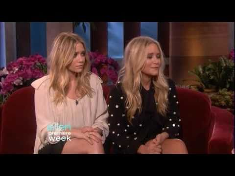 Mary-Kate & Ashley Olsen Interview On Ellen - September 2010
