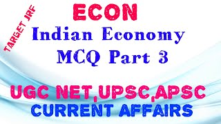 Indian Economy Questions Answers Mcq — Totoku