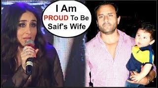 Kareena Kapoor's REACTION ON Saif Ali Khan At Veere Di Wedding Song Launch Video