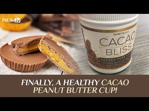 FINALLY, a Healthy Cacao Peanut Butter Cup!