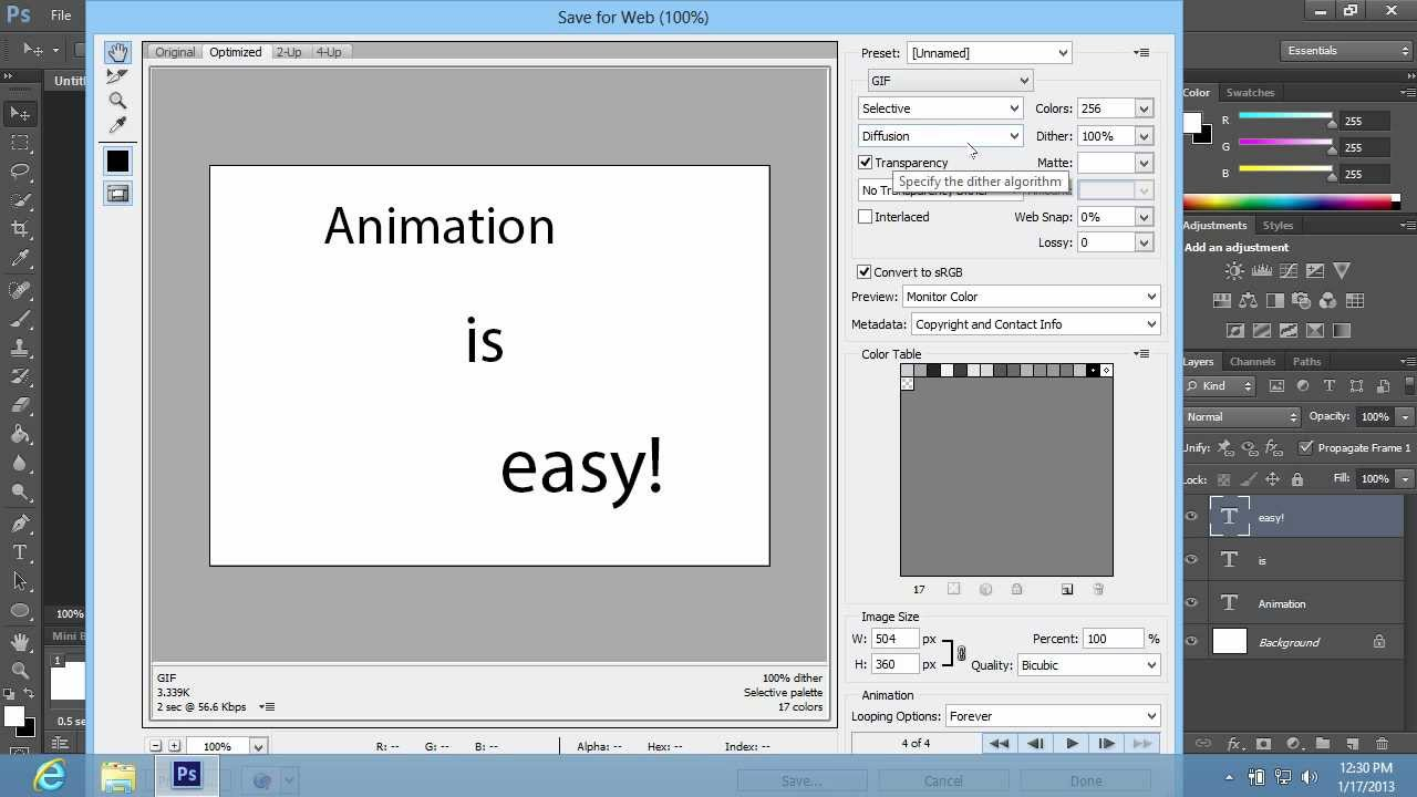 How to create animation in photoshop cs6 youtube how to create animation in photoshop cs6 negle Gallery
