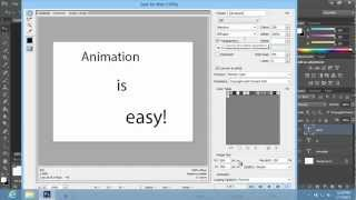 Wie das Erstellen einer Animation in Photoshop CS6