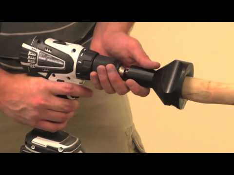 How to Use Tenon Cutters to Make Log Furniture