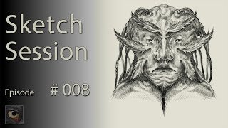 Sketch Session 008 - Feathers and Dreadlocks! thumbnail