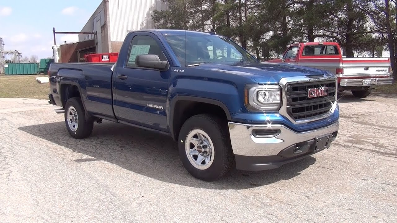 2017 gmc sierra 1500 4wd regular cab with long box. Black Bedroom Furniture Sets. Home Design Ideas