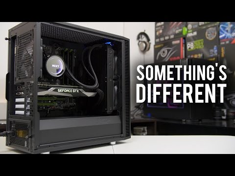 Building a PC in the New Define Mini C from Fractal Design