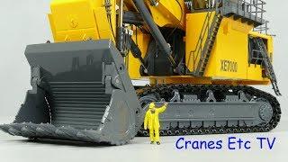 Yagao XCMG XE7000 Mining Excavator by Cranes Etc TV