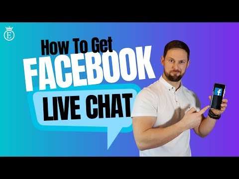 How To Get Facebook LIVE CHAT Support!