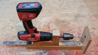Cool Idea for your Workshop - Making a Mobile Drill Press (Drill Guide)
