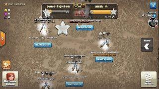 50 attacks in last 5 minute | live war attacks | clash of clans