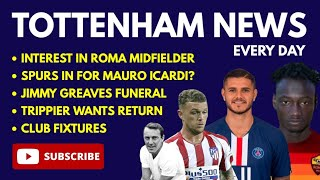 TOTTENHAM NEWS: Interest in Ebrima Darboe and Mauro Icardi, Greaves Funeral, Tripper Wants Return
