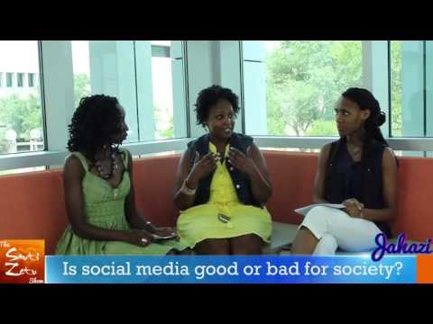 Is social media good or bad for society?