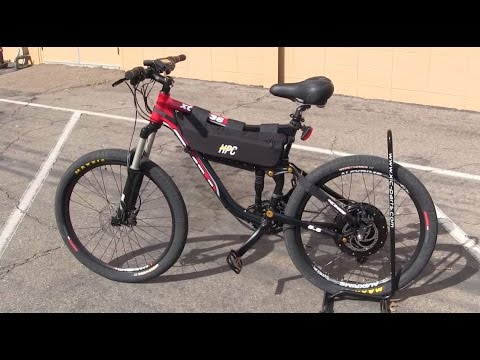 5000w 39 supersonic 39 55mph top speed electric bike by hi. Black Bedroom Furniture Sets. Home Design Ideas