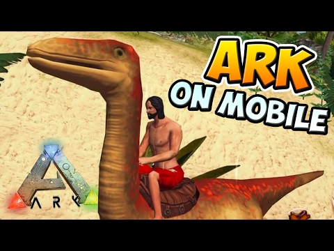 ARK ON MOBILE!!! - The ARK Of Craft: Dinosaurs