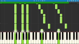 Tom Walker - Leave a Light On ( Synthesia Piano Tutorial)