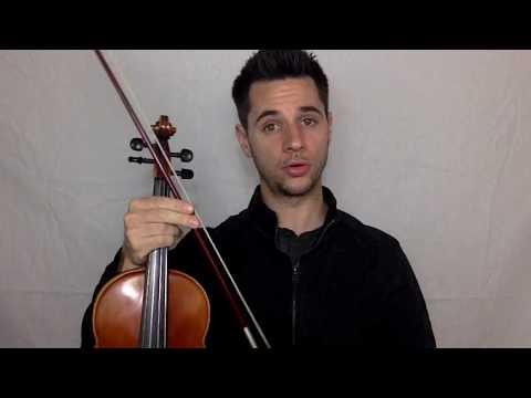 Violin Bowing: Detache, Staccato, Legato and Tenuto