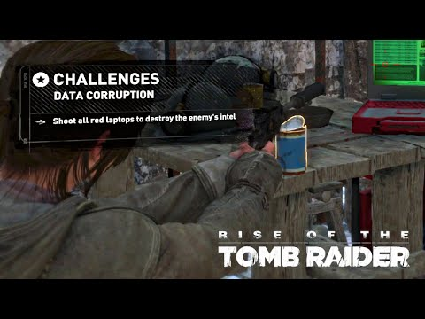 Rise of the Tomb Raider · Data Corruption Challenge Walkthro