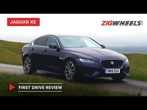 2020 Jaguar XE First Drive Review | Price in India , Features, Engines & More | ZigWheels