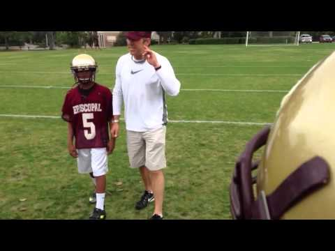 Mark Brunell Coaches His New Team