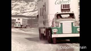 Raw Footage of Dodge Tractor Trailer trucks - Galaxy Film Production