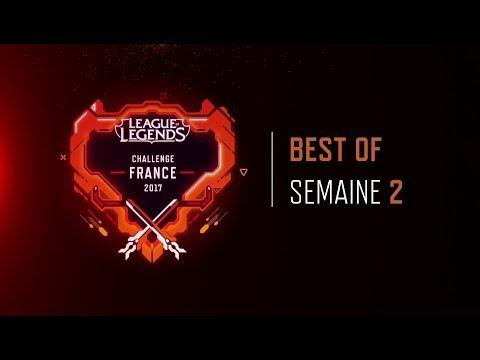 Best-of Semaine 2 | PROJET : Challenge France 2017