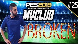 PES 2019 myClub | Straight Up Broken! #25