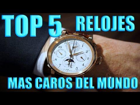 Top Mundo Youtube 5Relojes Más 2017 Del Caros sdhtrQ