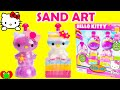 Hello Kitty Sand Art Kit and Play Doh