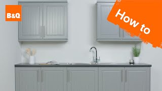 How To Paint Kitchen Cabinets Youtube