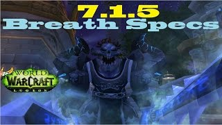 7.1.5 PvP and PvE Breath Specs - Frost DK Guide - Max Burst, Single Target, Elongated