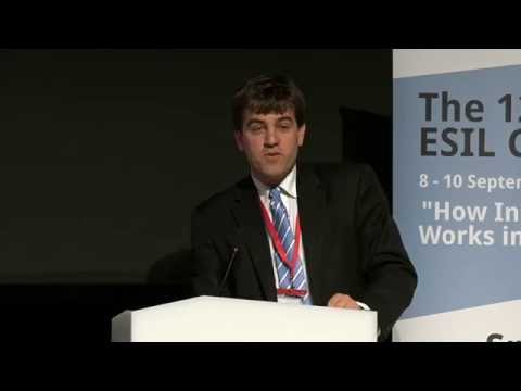 ESIL 2016 | Contemporary Economic and Financial Crises and the Limits of International Regulation