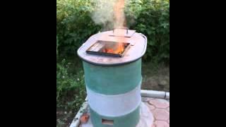 Тандыр  из кирпича(Готовим шашлыки в тандыре., 2012-07-25T20:10:51.000Z)