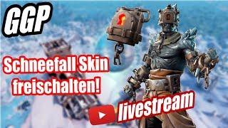 Schneefall Skin freischalten! | Aufgaben Season 7 Woche 9! | Freischaltbare Stile? | Fortnite Live