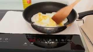 Электрическая настольная плита Kitfort KT-105 видео инструкция