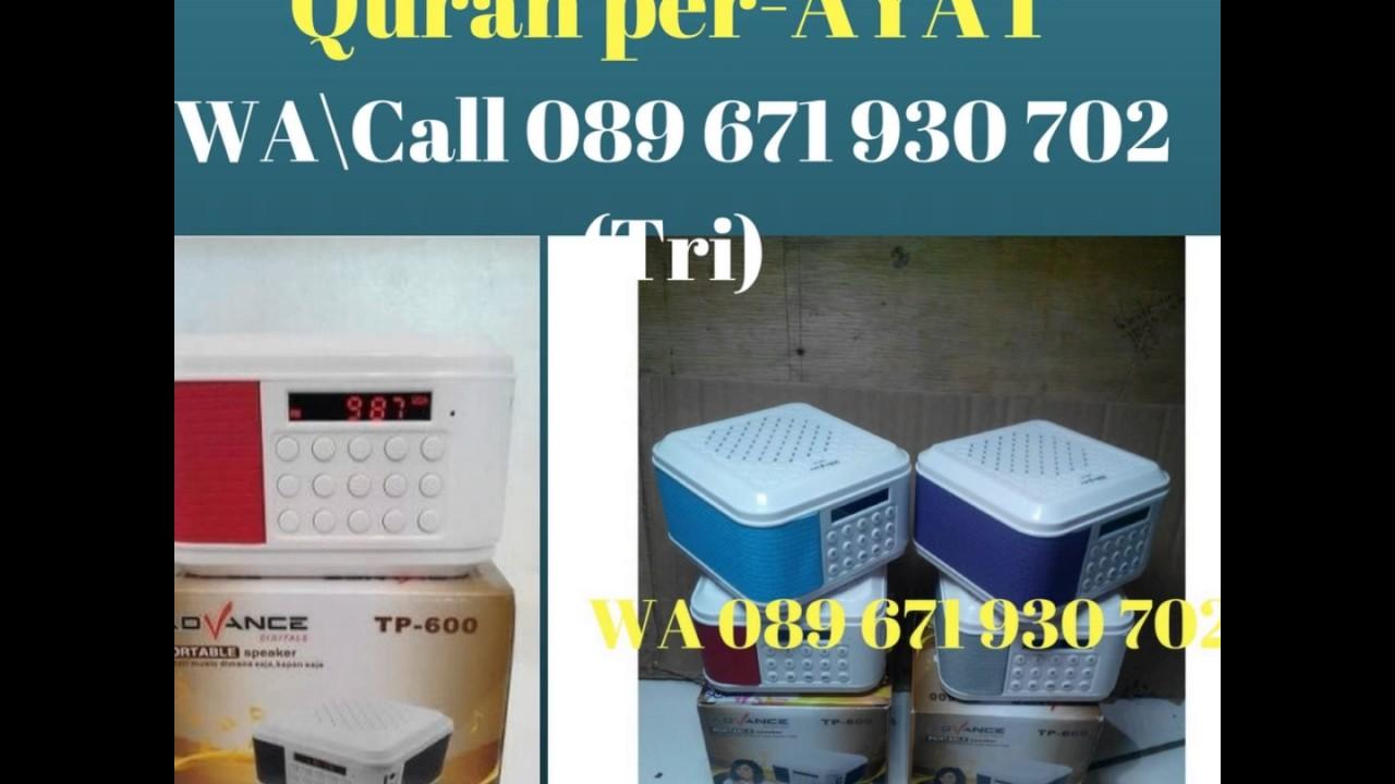 089 671 930 702 Tri 3 Jual Speaker Quran Solo Al Murottal 25 Qori Radio Model
