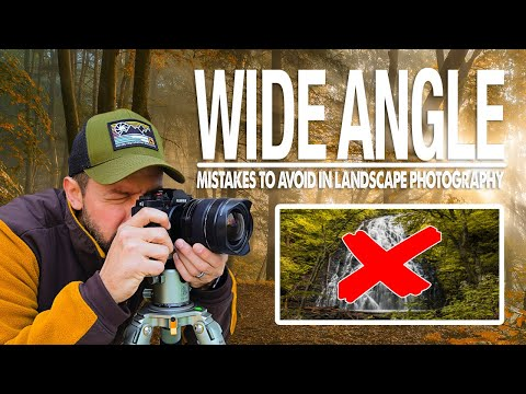 Beginner WIDE ANGLE MISTAKES To Avoid In Landscape Photography