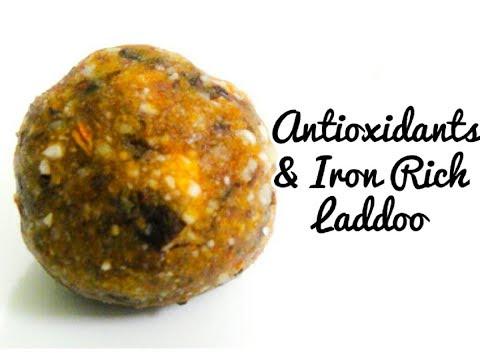 Antioxidant & Iron Rich Laddu,बिना चीनी/गुड़,बिना घी के बनाये लड्डू,Dry Fruit Laddu,By Sweta