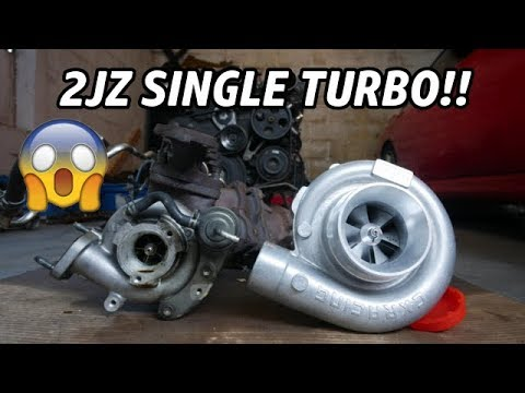 UNBOXING THE CXRACING SINGLE TURBO KIT FOR THE 2JZ ! 600HP 2JZ SWAPPED  240SX S14! (PT  5)