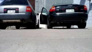 audi allroad 2 7t custom exhaust vs audi a6 2 7t custom exhaust