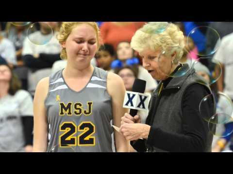 Lauren Hill Basketball Game Xavier University Cincinnati Ohio