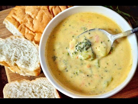 EASY BROCCOLI AND CHEESE SOUP RECIPE