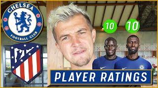 CHELSEA 2-0 ATLETICO MADRID | CHELSEA vs ATLETICO MADRID (2-0) PLAYER RATINGS