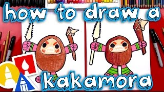 How To Draw A Kakamora From Moana