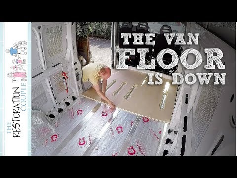 INSULATING and BUILDING the Floor | TRC Van Conversion 5.0