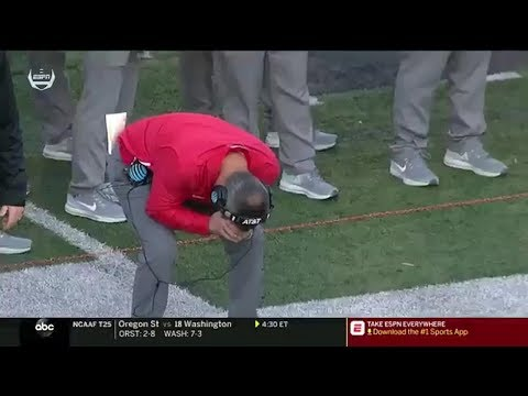 Ohio State vs Maryland: Urban Meyer Reaction Shots