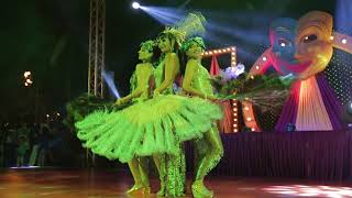 Burlesque and Fire show group angels [New Year 2018]