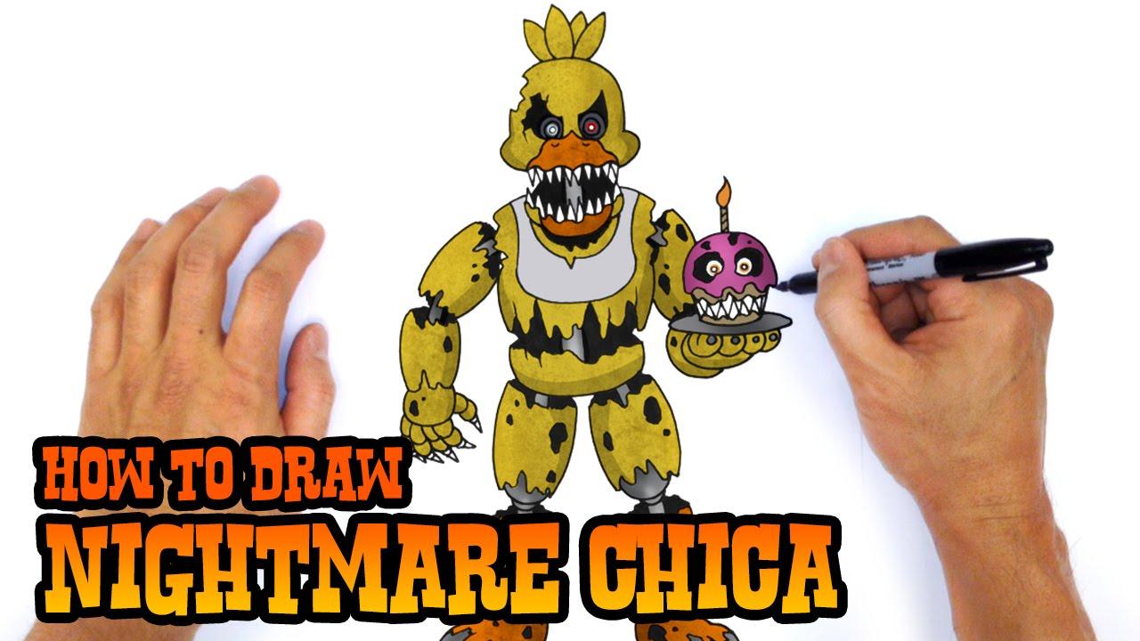 How To Draw Fnaf Freddy Steps -