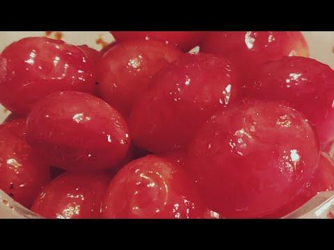 CHERRY    How To Make Cherry At Home    Easy Cherry Recipe    Sanobar Kitchen