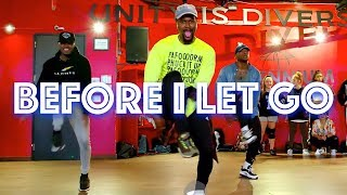 "Beyoncé  - ""Before I Let Go"" - JR Taylor Choreography"