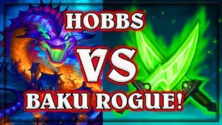 Hearthstone Heroes of Warcraft Hobbs VS Baku Rogue Wild ~ The Witchwood